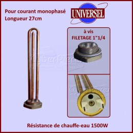 Resistance de chauffe-eau 1500W Mono à vis CYB-158640