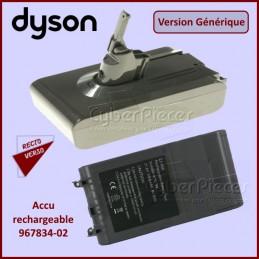 Batterie Adaptable Dyson 96783402 CYB-124256