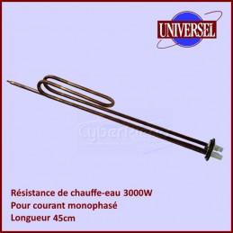 Resistance Chauffe Eau 3000W Mono 45cm CYB-044912