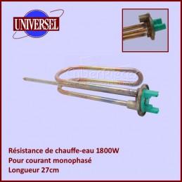Resistance Chauffe Eau 1800W Mono MTS 27cm CYB-139953