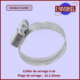 Collier de serrage 16-25mm à la pièce CYB-001892