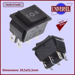 Interrupteur marche-arret Noir 10A CYB-124539