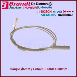 Bougie avec son câble Brandt 92X8589 CYB-103367