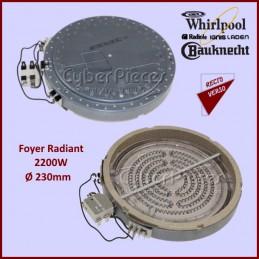 Foyer Radiant 2200w Whirlpool 481231018903 CYB-186117