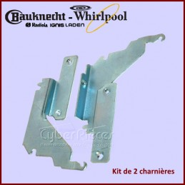 Kit de 2 charnières Whirlpool 481010517344 CYB-324809