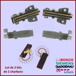 Lot de 2 kits charbons Bosch 00639025 CYB-313049