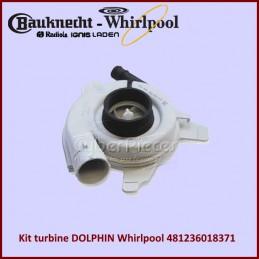 Kit turbine DOLPHIN Whirlpool 481236018371 CYB-008556