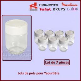 Lots de 7 pots Yaourtière Seb A14A03 CYB-028806