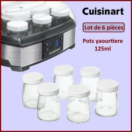 Lot de 6 pots yaourtiere Cuisinart CYB-260978