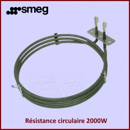 Resistance circulaire 2000W Smeg 806890882 CYB-136495