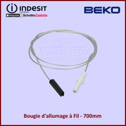 Bougie d'allumage à Fil 700mm Indesit C00052951 CYB-048392