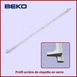 Profil arrière de clayette en verre Beko 4864620200 CYB-043588