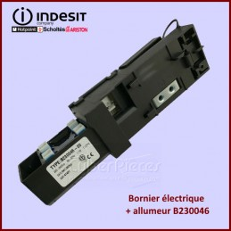 Bornier B230046 allumeur Indesit C00290193 CYB-301183