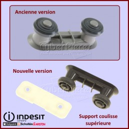 Support coulisse superieure Indesit C00627134 CYB-415705