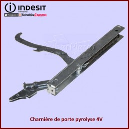 Charnière de porte pyrolyse 4V Indesit C00263444 CYB-345026