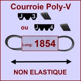 Courroie 1854J3 ou J4 non élastique CYB-125154