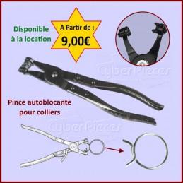 Pince autoblocante pour colliers Miele CYB-126359