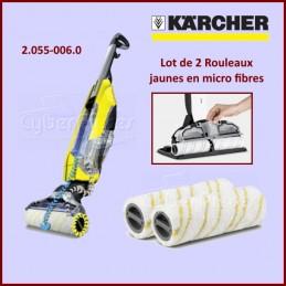 Rouleaux microfibre jaune Karcher 20550060 CYB-020381