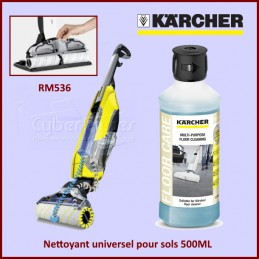 Nettoyant universel pour sols 500ML Karcher RM536 CYB-260862