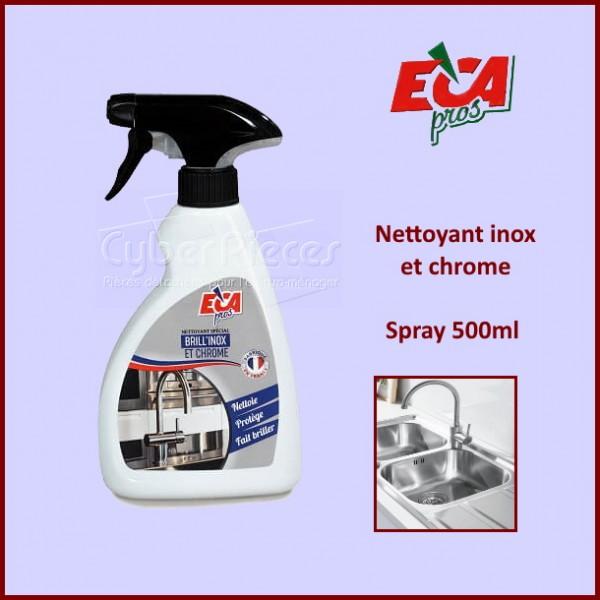Nettoyant inox et chrome 500ml ECA PROS CYB-120005