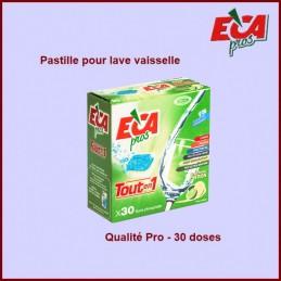 Lot de 30 Pastilles de lavage ECA PROS CYB-232968