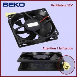 Ventilateur 12V Beko 5799900100 CYB-295307