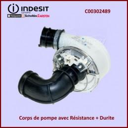 Corps de pompe avec Résistance + Durite C00302489 CYB-264457