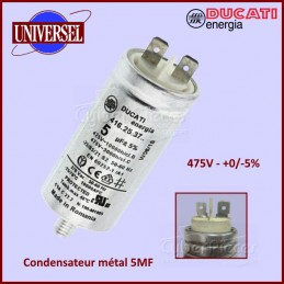 Condensateur métal 5,0µF (5mF) 475V CYB-172424