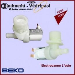 Electrovanne 1 voie 90°Beko - Whirlpool CYB-030397