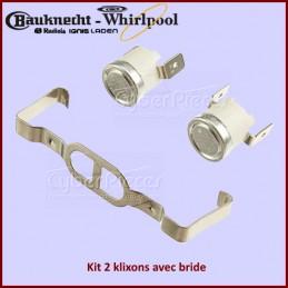 Kit 2 klixons avec bride 481225928681 CYB-011570