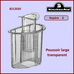 Poussoir large transparent...