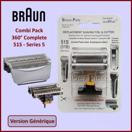 Combi Pack 360° Complete 51S - Series 5 - Version Adaptable CYB-218368