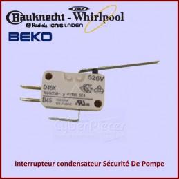 Interrupteur condensateur Sécurité De Pompe 481227138497 CYB-080026