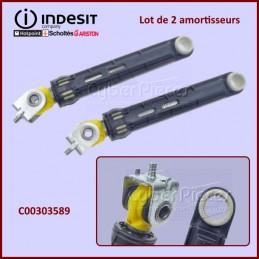 Lot de 2 amortisseurs Indesit C00303589 CYB-201933