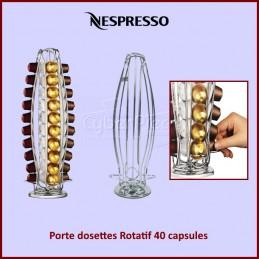 Porte dosettes Rotatif 40 capsules pour machine Nespresso CYB-113175