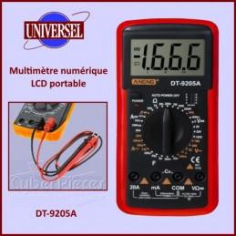 Multimètre numérique LCD...