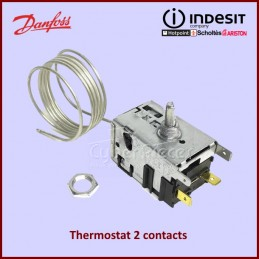 Thermostat 2 contacts Indesit C00282710 CYB-350112