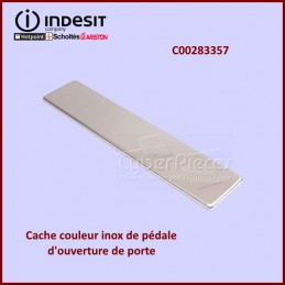 Cache face avant poignée couleur inox Indesit C00283357 CYB-439725