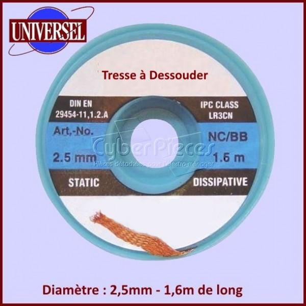 Tresse à Dessouder 2,5mm - 1,6m CYB-381727