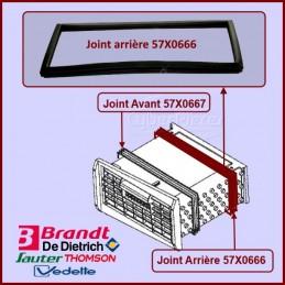 Joint arrière de condenseur Brandt 57X0666 CYB-228671