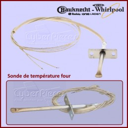 Sonde de température four Whirlpool 480121101597 CYB-176279