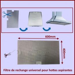 Filtre de rechange universel 600x400mm pour hottes aspirantes CYB-100328