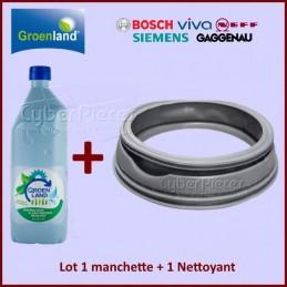 Lot Promotionnel Manchette 00354135 + Nettoyant / Détartrant BIO 500ml CYB-291842