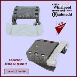 Capuchon avant de glissière Whirlpool 481010604351 CYB-134583