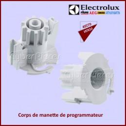Corps manette programmateur Electrolux 1260566003 CYB-121637