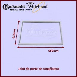 Joint de porte de congélateur Whirlpool 481946818384 CYB-206532