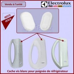 Cache-vis pour poignée blanche Electrolux 2230030013 CYB-135573