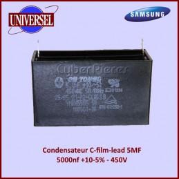 Condensateur C-film-lead-5000nf +10-5% -450V CYB-064743