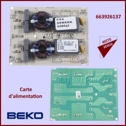 Carte d'alimentation Beko 663926137 CYB-116640