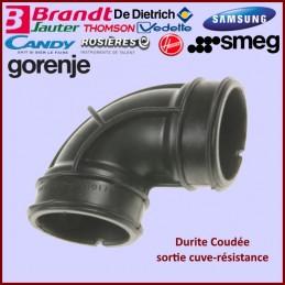 Durite Coudée sortie cuve-résistance Brandt AS0042315 CYB-428866